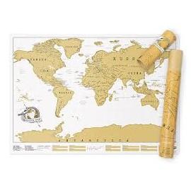 Mapa de rascar