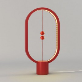 Lámpara Heng roja