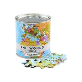 Puzzle imantado World map