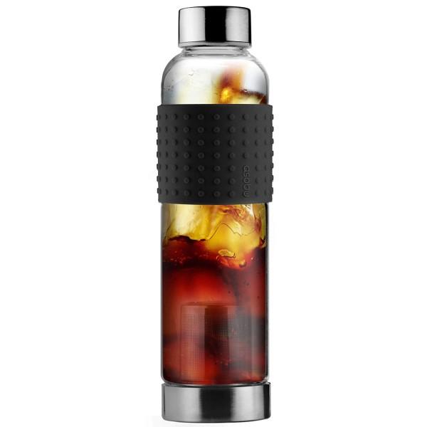 Botella de vidrio con infusor