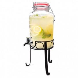 Dispensador de cristal de 8 litros con grifo