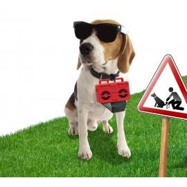 Dispensador bolsas mascotas
