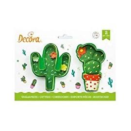 2 emporte -pièce cactus