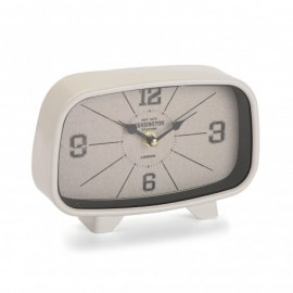 Horloge de table blanche