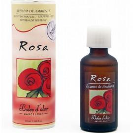 Brume de parfum rose