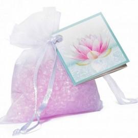 Mini resinas perfumadas Flor de loto