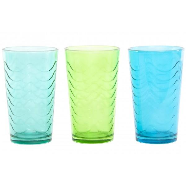 6 x vasos colores