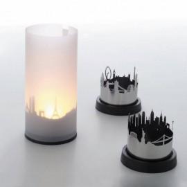 Lámpara de velas citylight Paris