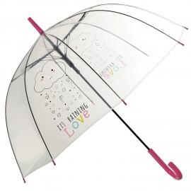 """Paraguas """"it's raining love..."""""""