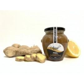 Miel con jengibre y limón