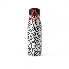 Botella termo Zoku 500 ml Modern Calligraphy
