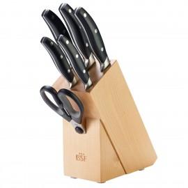 Bloque cuchillos 7 Piezas BSF