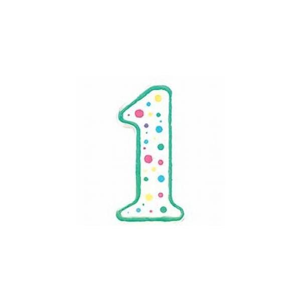 Vela Cumpleaños números