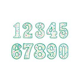 Vela Cumpleaños números arcoiris