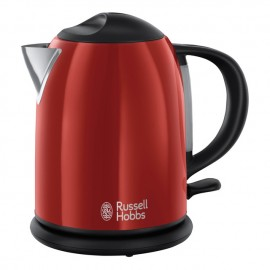 Hervidor 1 litro flame red Russell Hobbs