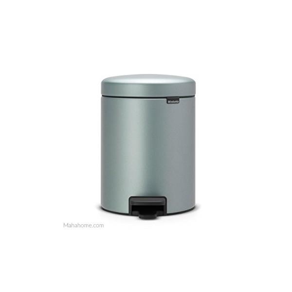 Cubo pedal 5l Metallic Mint newicon Brabantia