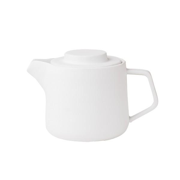 Cafetera-Tetera Duo pot cerámica blanca
