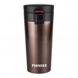 Pioneer Mug marrón 380 ml.