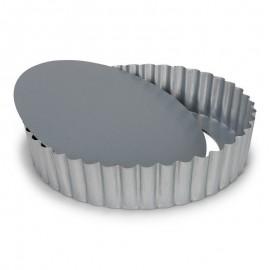 Molde rizado alto c/base extraible 25 cm
