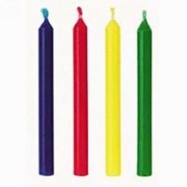 24 Velas colores cumpleaños