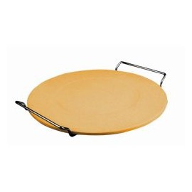 Piedra pizza 30 con soporte