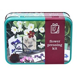 Gift in a tin kit prensa de flores