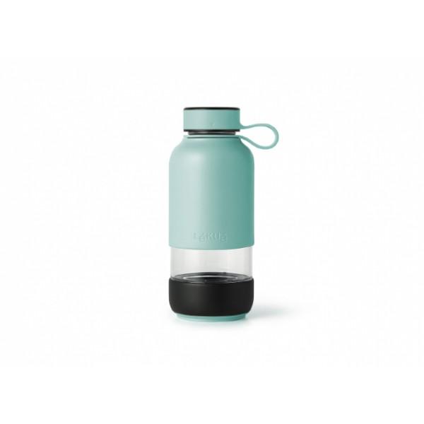 Botella de cristal Lékué To Go Turquesa
