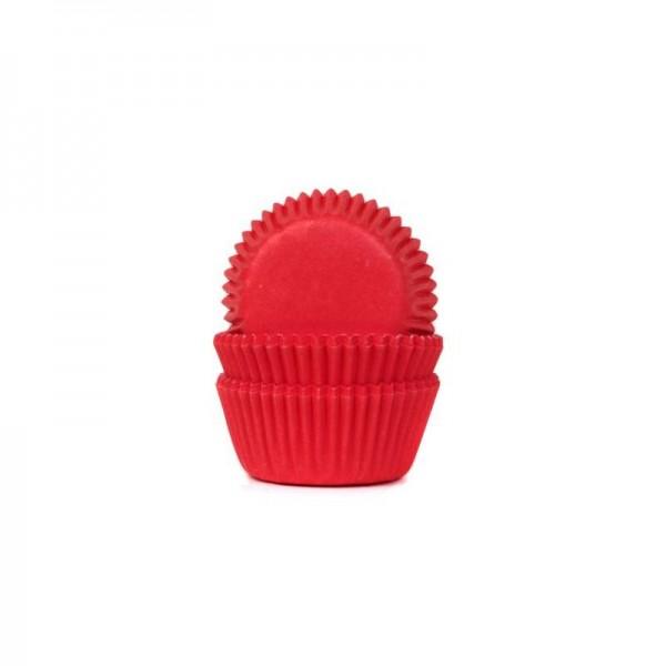 50 cápsulas mini cupcakes rojas azucrem