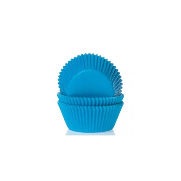 50 cápsulas mini cupcakes azules azucrem