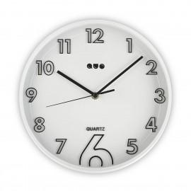 Reloj de pared blanco 28 cm