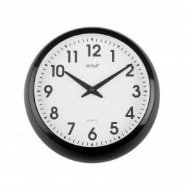 Reloj de pared negro 30