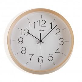 Horloge murale 30 cms. bois