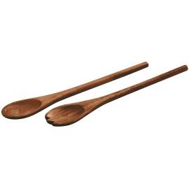 Cubiertos ensalada madera