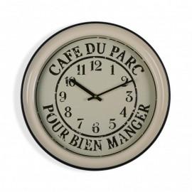 Reloj de pared 43 cm Cafe du parc