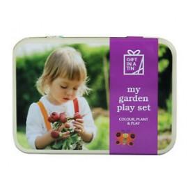Jardin set in a tin