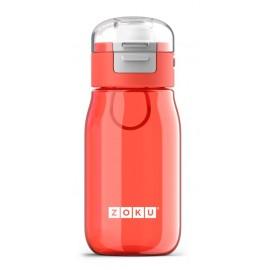 Botella Zoku flip niños Roja 465ml
