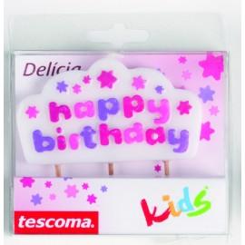 "Vela tarta de cumpleaños ""Happy Birthday"""