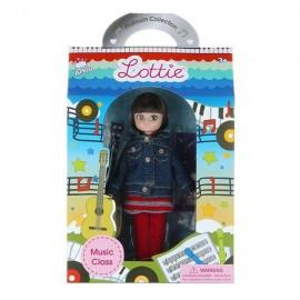 Muñeca Lottie con guitarra