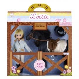 Muñeca Lottie con pony