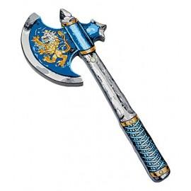 Hache de chevalier bleu Liontouch