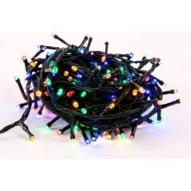 Guirnalda colores con LEDs 200 luces 5 metros