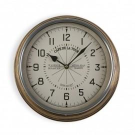 Reloj de pared 31 cm cafe de la tour