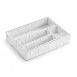 Set de 5 cestas blancas
