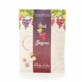 Mini sachet perfumado Red grapes