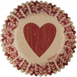75 Cápsulas para magdalenas cuore