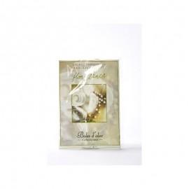 Sachet perfumado flor blanca