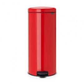 Cubo de pedal Brabantia 30 l Newicon rojo