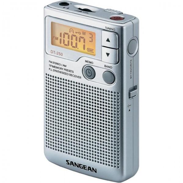 Radio portátil con altavoz Sangean DT-250