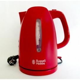 Hervidor 1,7 litro Russell Hobbs Textures red