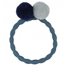Goma Kknekki Pompom Dusty blue